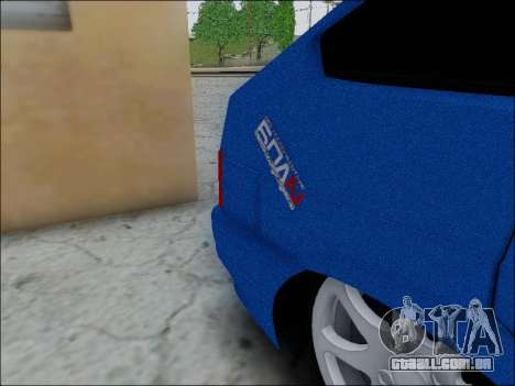 2114 para GTA San Andreas vista interior