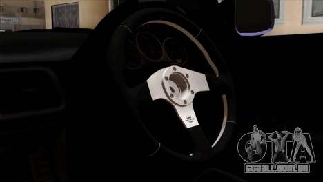 Subaru Impreza WRX STI 5pb Itasha para GTA San Andreas vista direita