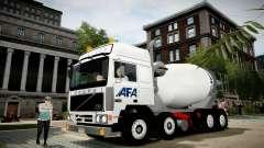 Volvo F10 cement truck
