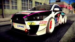 Mitsubishi Lancer Evolution X Juuzo Itasha