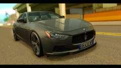 Maserati Ghibli S 2014 v1.0 EU Plate para GTA San Andreas
