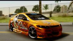 Honda Civic SI Juiced Tuned Shinon Itasha para GTA San Andreas