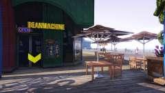 Uma loja de café