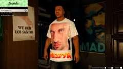 T-shirt para Franklin. - Fizruk