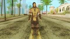 Mortal Kombat X Scoprion Skin para GTA San Andreas
