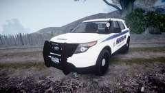 Ford Explorer Police Interceptor [ELS] slicktop para GTA 4