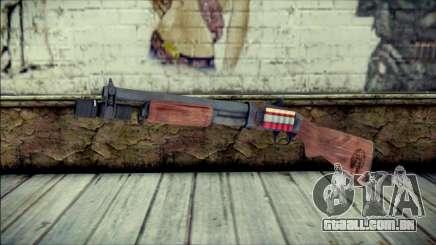 Rumble 6 Chromegun para GTA San Andreas
