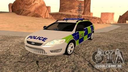 Ford Mondeo Kent Polícia para GTA San Andreas