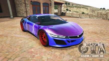 Dinka Jester (Racecar) Lightning PJ para GTA 5