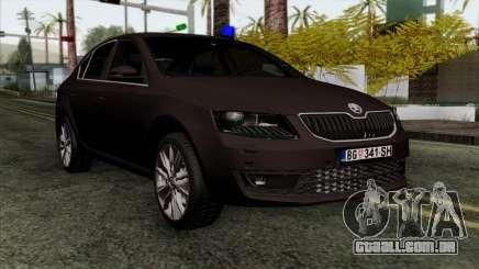Skoda Octavia Police para GTA San Andreas