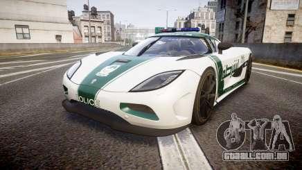 Koenigsegg Agera 2013 Police [EPM] v1.1 PJ4 para GTA 4