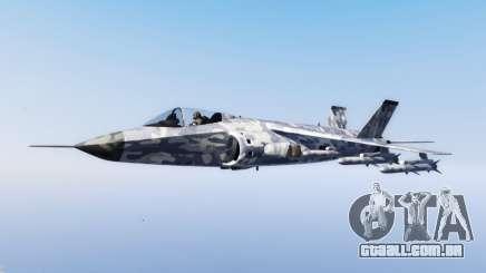 Hydra light blue camouflage para GTA 5