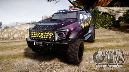 GTA V HVY Insurgent Pick-Up SWAT [ELS] para GTA 4