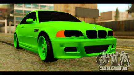 BMW M3 E46 Stock para GTA San Andreas