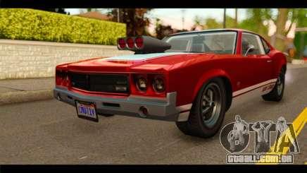GTA 5 Declasse Sabre GT Turbo para GTA San Andreas