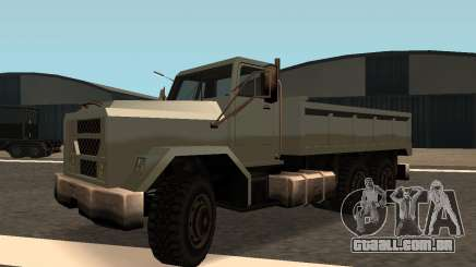 Flatbed Fixed para GTA San Andreas