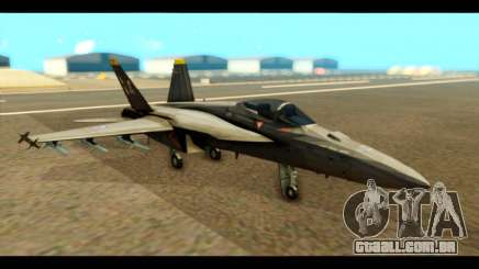 FA-18 Jolly Roger Black para GTA San Andreas