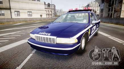 Chevrolet Caprice 1993 LCPD WH Auxiliary [ELS] para GTA 4