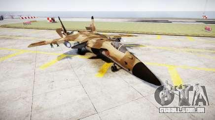 O Su-47 Berkut deserto para GTA 4