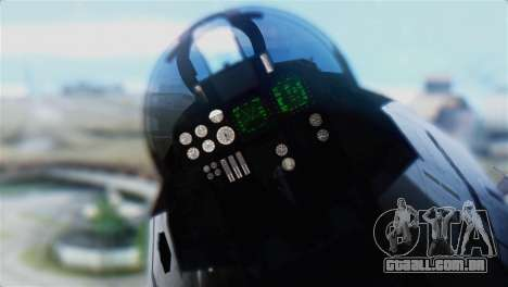 F-14D Super Tomcat Polish Navy para GTA San Andreas vista traseira