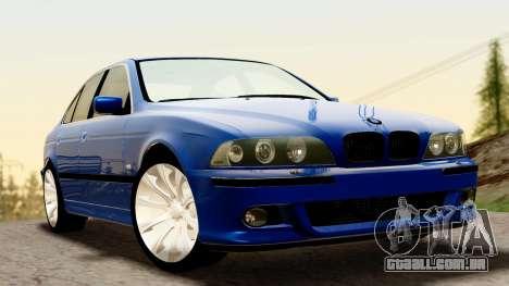 BMW 540i E39 para GTA San Andreas