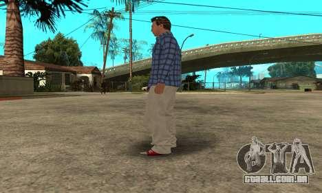 Skin Claude [HD] para GTA San Andreas oitavo tela