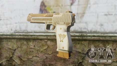 Desert Eagle Skin from GTA 5 para GTA San Andreas segunda tela