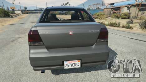 California State License plate para GTA 5