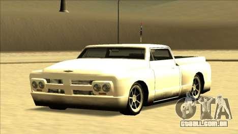Slamvan Final para GTA San Andreas vista superior