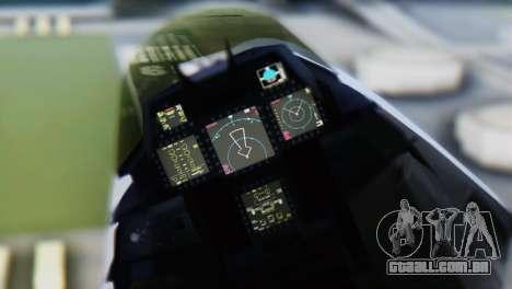 F-15DJ (E) JASDF Aggressor 32-8081 para GTA San Andreas vista direita