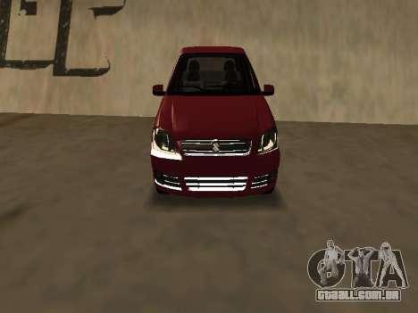 Suzuki Fun 2009 para GTA San Andreas esquerda vista
