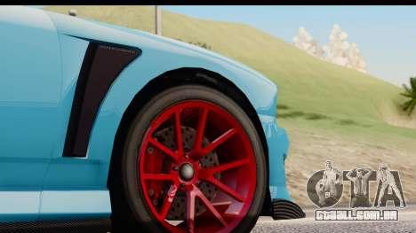 GTA 5 Bravado Buffalo S Sprunk para GTA San Andreas vista interior