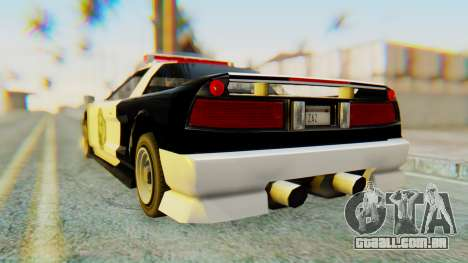 Infernus Interceptor para GTA San Andreas esquerda vista