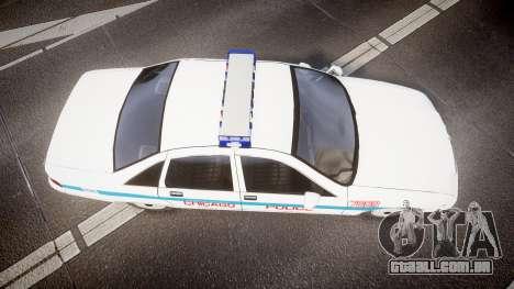 Chevrolet Caprice Chicago Police [ELS] para GTA 4 vista direita