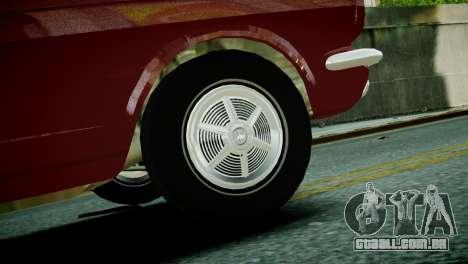 Ford Mustang 1965 para GTA 4 traseira esquerda vista