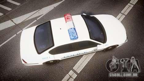 Chevrolet Impala Metropolitan Police [ELS] Pat para GTA 4 vista direita