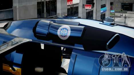 Annihilator from GTA 5 para GTA 4 vista de volta