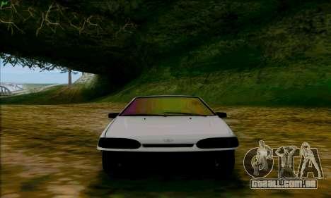2114 Ala Dubai para GTA San Andreas vista traseira