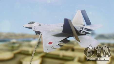 F-15DJ (E) JASDF Aggressor 32-8081 para GTA San Andreas esquerda vista