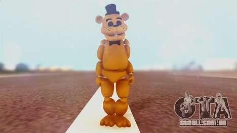 Golden Freddy v2 para GTA San Andreas segunda tela