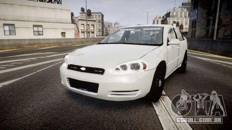Chevrolet Impala Unmarked Police [ELS] tw para GTA 4