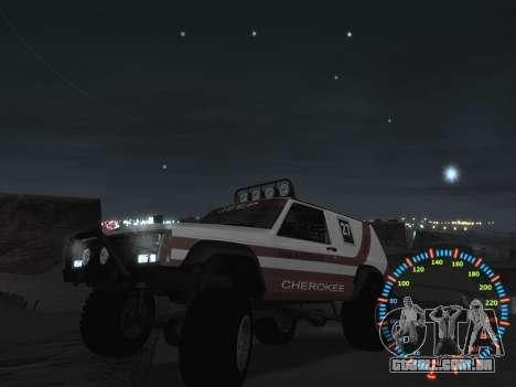Simples velocímetro para GTA San Andreas oitavo tela