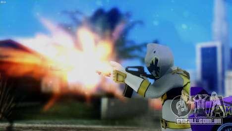 Power Rangers Skin 5 para GTA San Andreas terceira tela