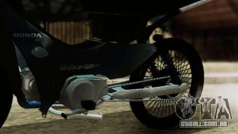 Honda Wave Stunt para GTA San Andreas vista traseira