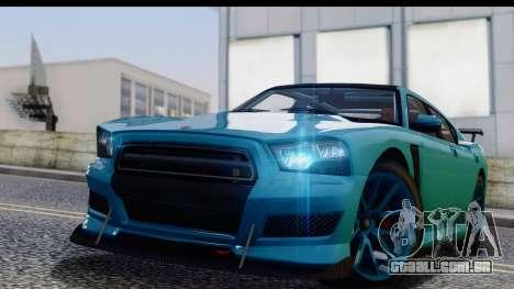 GTA 5 Bravado Buffalo S Sprunk para GTA San Andreas traseira esquerda vista
