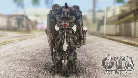 Shockwave Skin from Transformers v1 para GTA San Andreas terceira tela