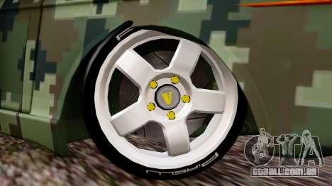 Peykan Javanan Drift para GTA San Andreas traseira esquerda vista