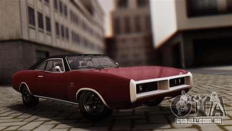 GTA 5 Imponte Dukes IVF para GTA San Andreas traseira esquerda vista