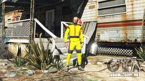 GTA 5 O terno de karate segundo screenshot