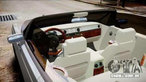 Rolls-Royce Phantom Coupe 2009 para GTA 4 vista direita